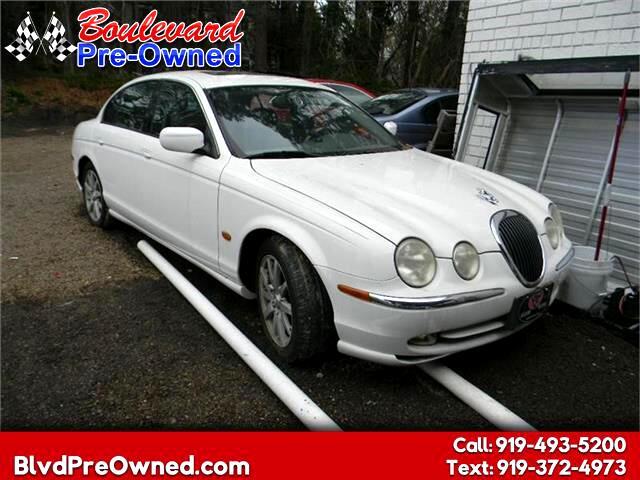 2002 Jaguar S-Type 4dr Sdn V8