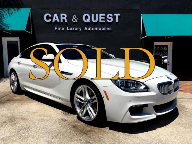 2014 BMW 6-Series Gran Coupe 650i M sport