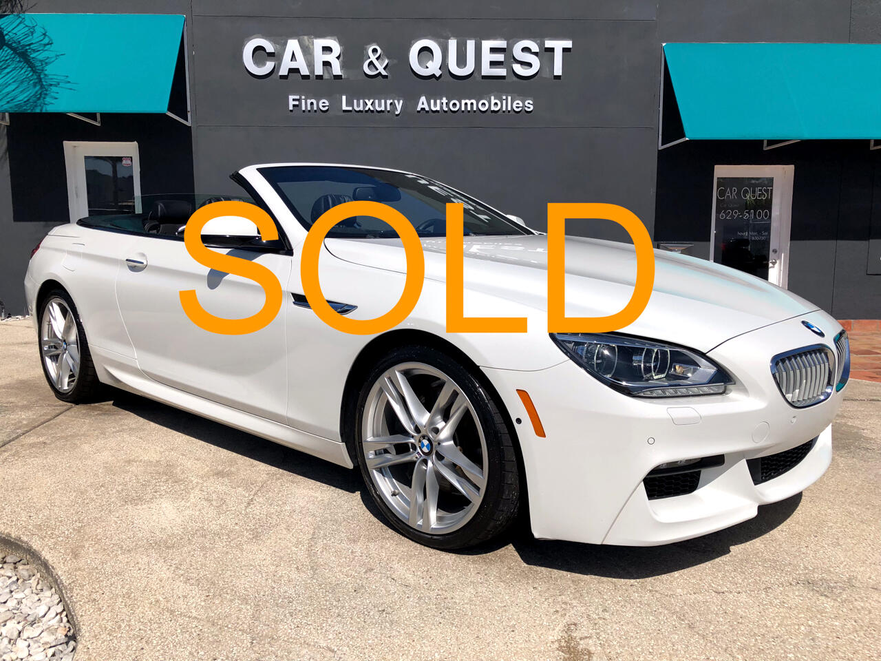 BMW 6-Series 650i Convertible 2015