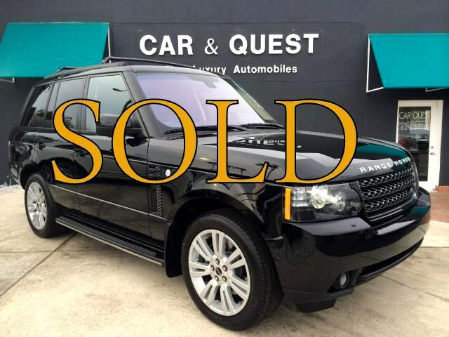 2012 Land Rover Range Rover LUX HSE