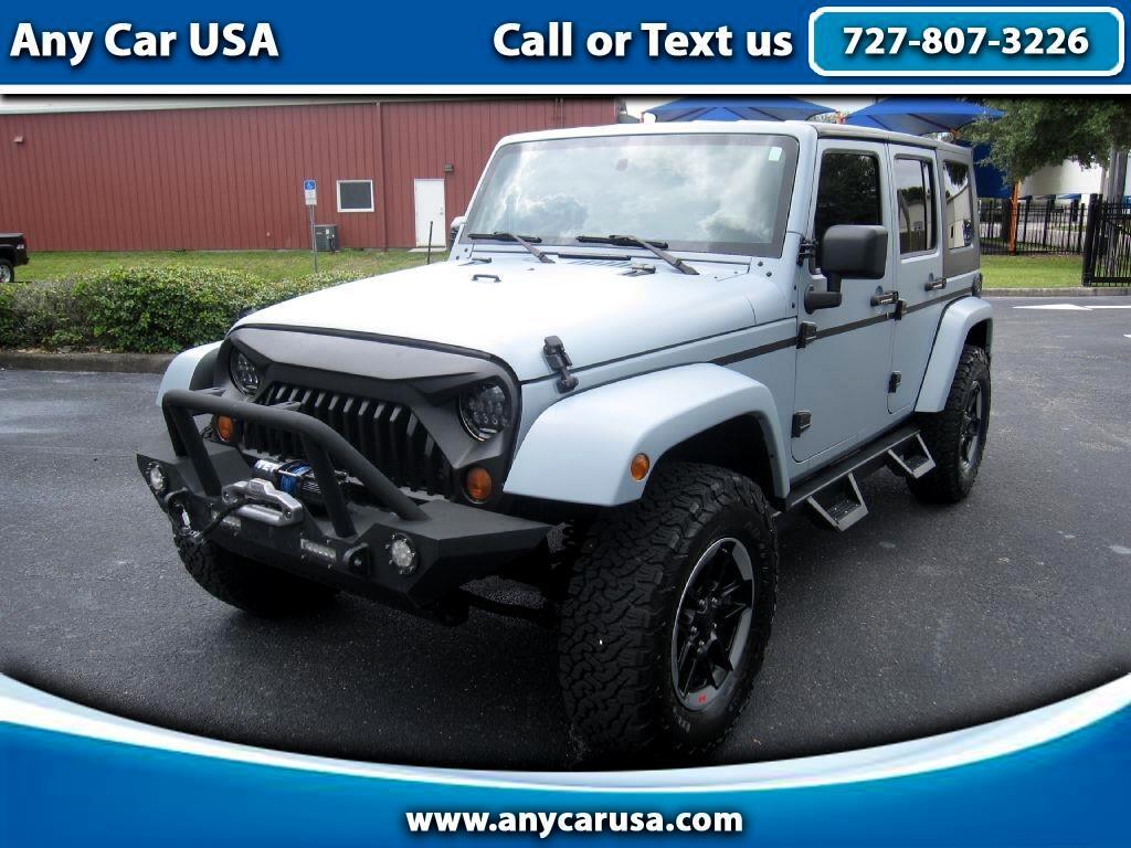 2007 Jeep Wrangler Unlimited Sahara 2WD