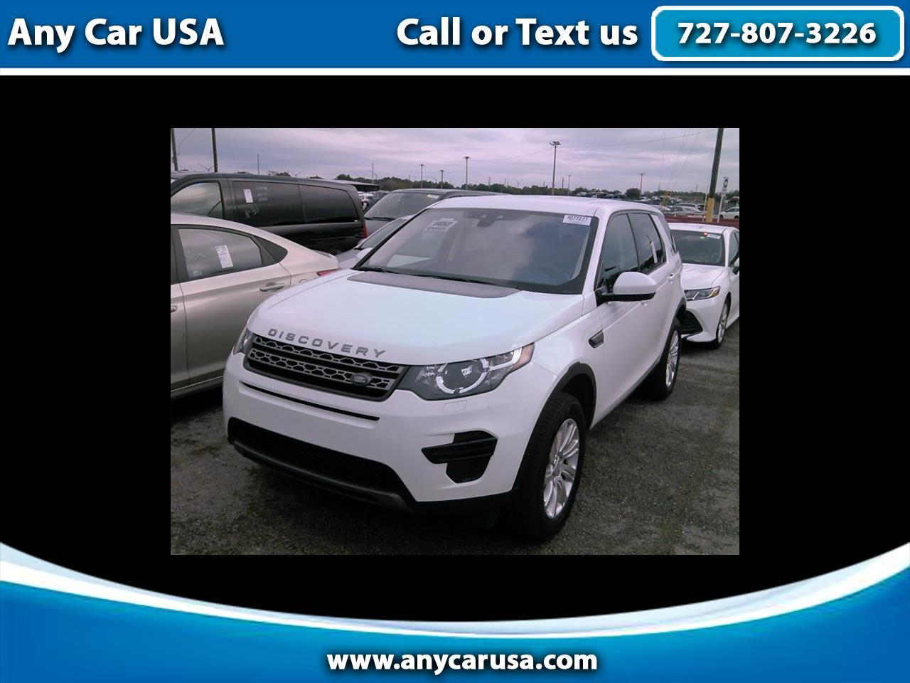 2018 Land Rover Discovery Sport AWD 4dr SE