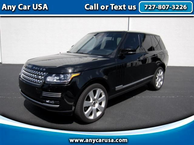 2013 Land Rover Range Rover Supercharged Plus Autobiography Pkg