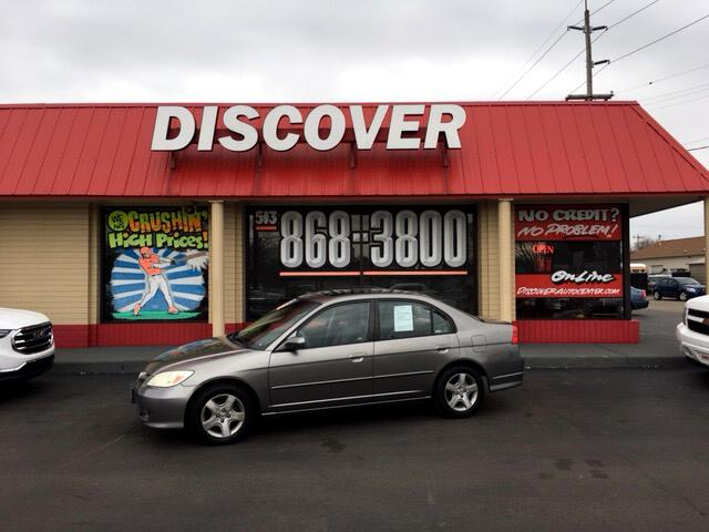 2005 Honda Civic EX sedan AT