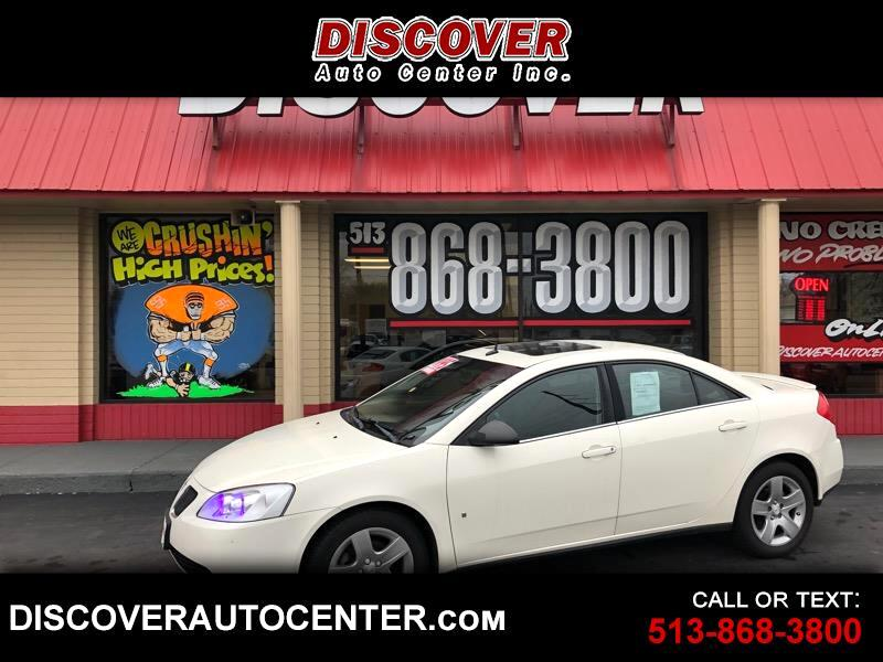 buy here pay here 2008 pontiac g6 4dr sdn for sale in hamilton oh 45011 discover auto center. Black Bedroom Furniture Sets. Home Design Ideas