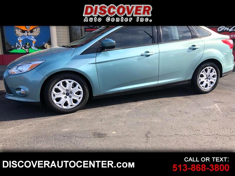 buy here pay here 2012 ford focus 4dr sdn se for sale in hamilton oh 45011 discover auto center. Black Bedroom Furniture Sets. Home Design Ideas