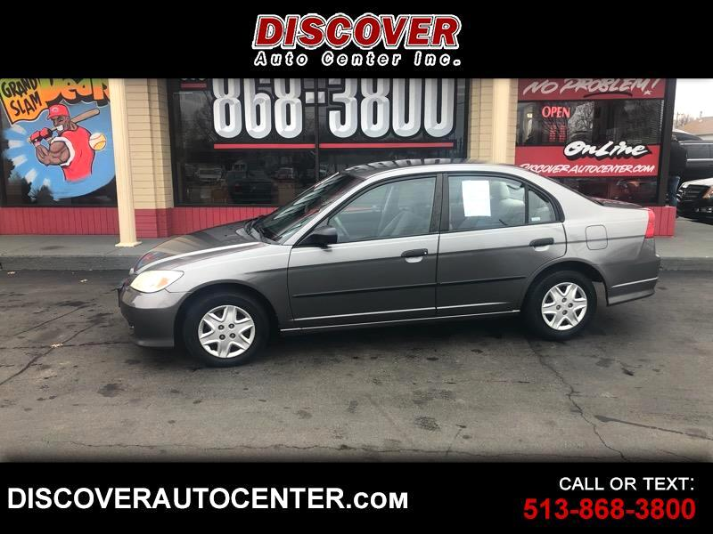 2005 Honda Civic Sdn VP AT