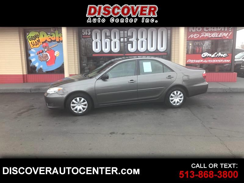 2005 Toyota Camry 4dr Sdn STD Manual (Natl)
