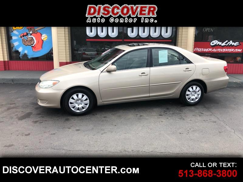 2006 Toyota Camry 4dr Sdn STD Manual (Natl)