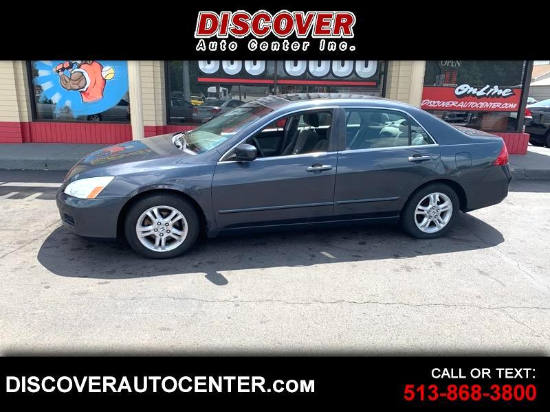 2007 Honda Accord Sdn 4dr I4 AT EX