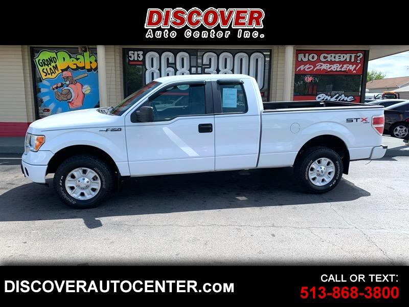 "2009 Ford F-150 4WD SuperCab 133"" STX"