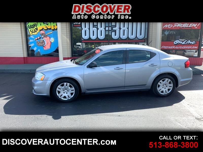 2013 Dodge Avenger Se >> Used 2013 Dodge Avenger 4dr Sdn Se For Sale In Hamilton Oh