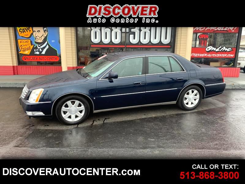 Cadillac DTS 4dr Sdn w/1SC 2006