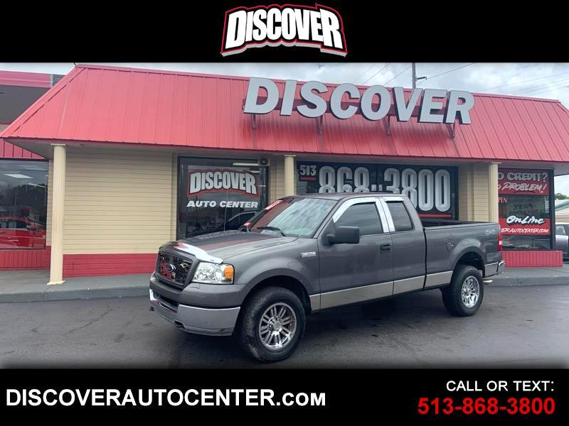 """Ford F-150 Supercab 145"""" Lariat 4WD 2005"""