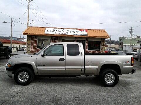 """2001 Chevrolet Silverado 2500HD 4WD Double Cab 144.2"""" LT"""