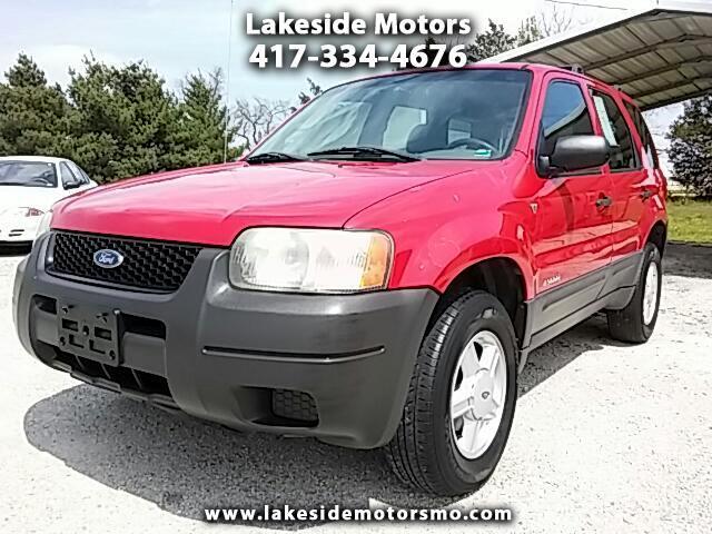 """2002 Ford Escape 4dr 103"""" WB XLS Choice"""