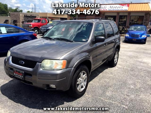 """2004 Ford Escape 4dr 103"""" WB Limited 4WD"""