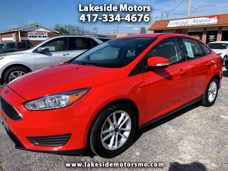 2017 Ford Focus 4DR SEDAN SE MANUAL