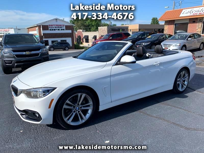 2018 BMW 4 Series 430i Convertible