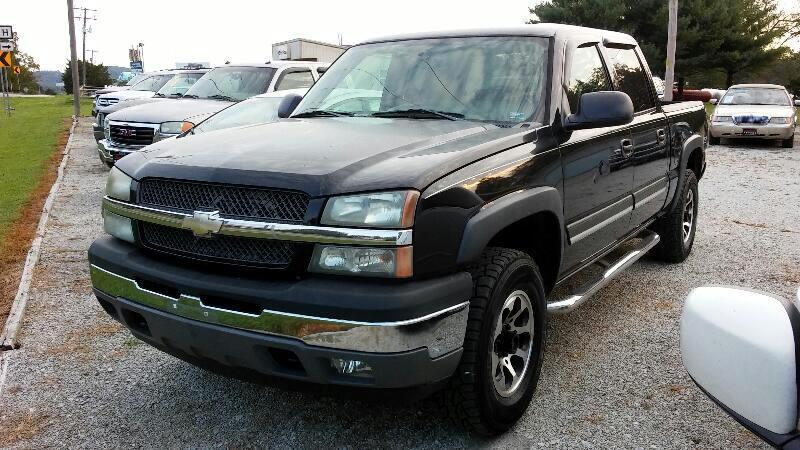 """2005 Chevrolet Silverado 1500 Crew Cab 143.5"""" WB 4WD Z71"""