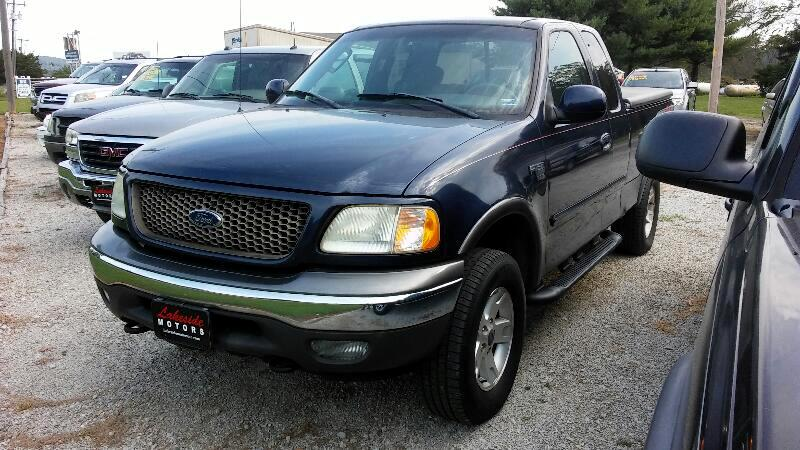 """2003 Ford F-150 Supercab 139"""" XLT Heritage 4WD"""