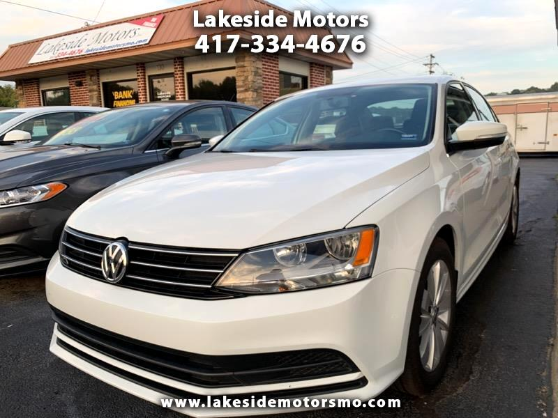 2015 Volkswagen Jetta Sedan 4dr DSG 2.0L TDI SE w/Connectivity