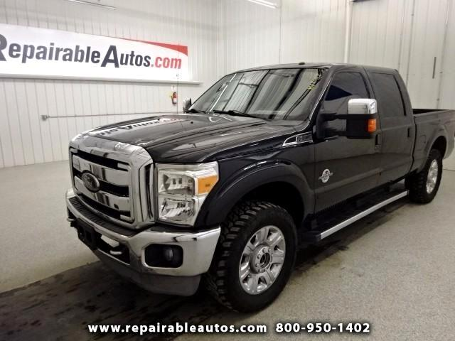 2013 Ford F-250 SD LARIAT Water Damage NonRepairable Title