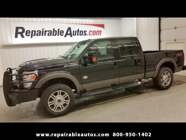 2016 Ford F-250 SD FX4 Crew Cab 4WD Repairable Water Damage