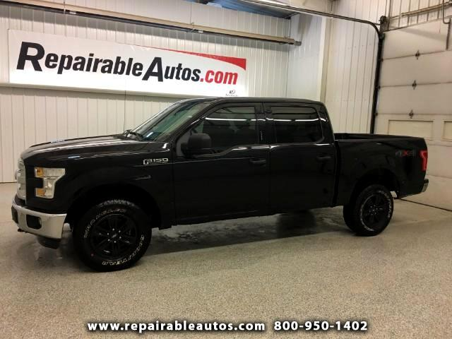 2016 Ford F-150 XLT 4x4 Repairable Water Damage