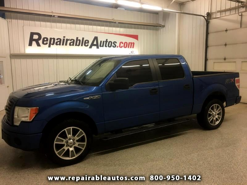2014 Ford F-150 Sport 2WD Repairable Water Damage