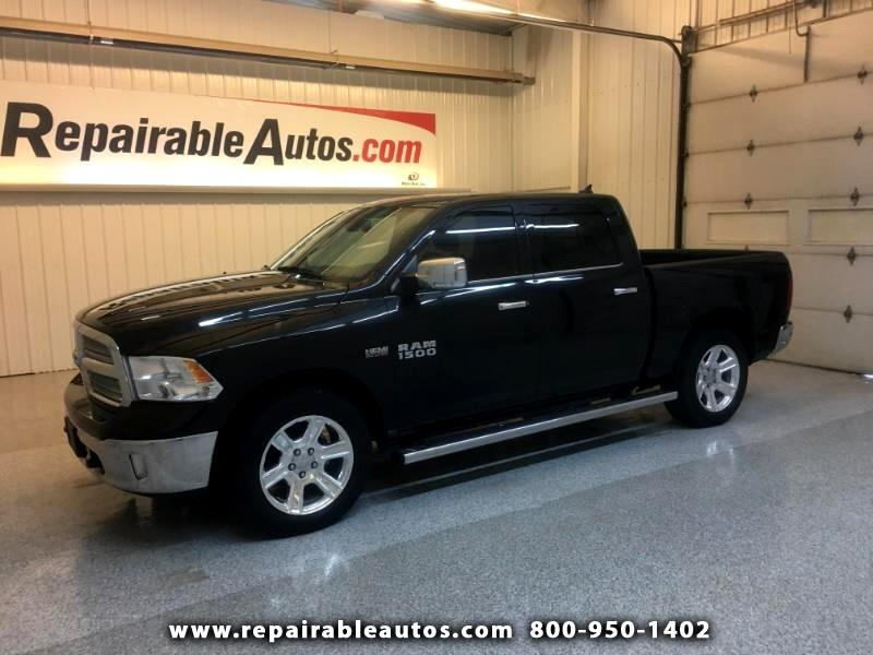 2017 RAM 1500 Lonestar 2WD Repairable Water NON REPAIRABLE TITLE
