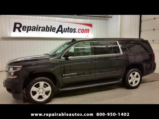 2015 Chevrolet Suburban LT 2WD Repairable Water Dmg NONREPAIRBLE TITLE