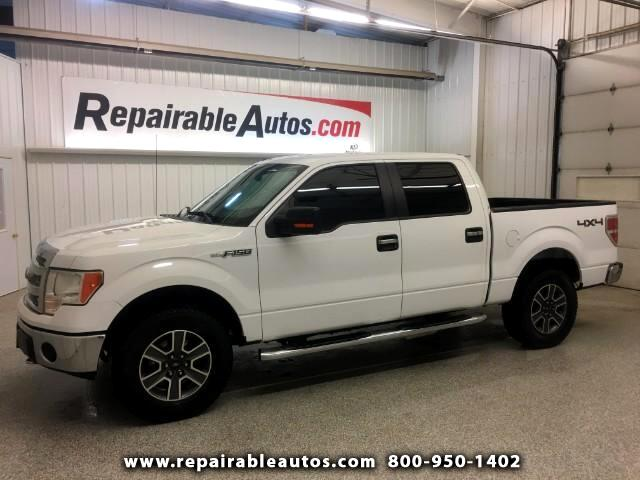 2014 Ford F-150 Repairable Water Damage