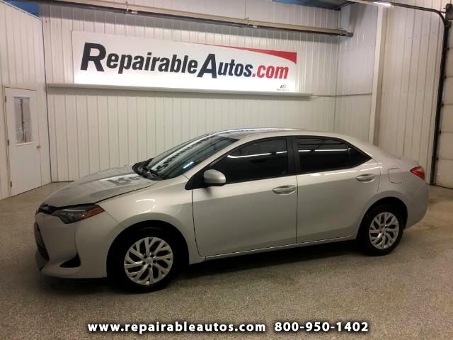 2017 Toyota Corolla LE Repairable Water Damage