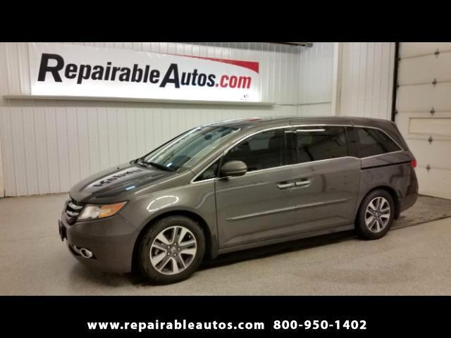 2015 Honda Odyssey Touring Repairable Water Damage-NON REPAIRABLE TIT