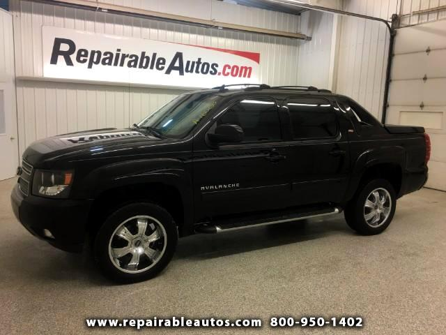 2012 Chevrolet Avalanche Z71 4x4 Repairable Water Damage