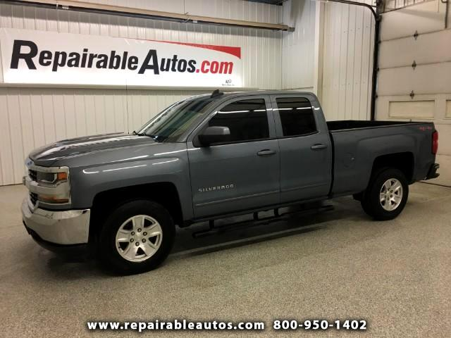 2016 Chevrolet Silverado 1500 LT 4X4 Repairable Water Damage