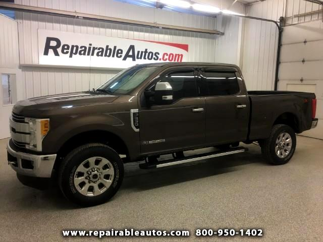 2017 Ford F-250 SD Lariat Crew Cab 4X4 Repairable Water Damage