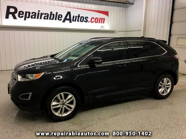 2017 Ford Edge SEL AWD Repairable Water Damage