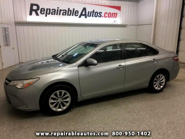 2016 Toyota Camry LE Repairable Water Damage