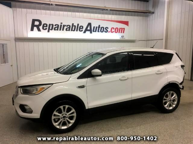 2017 Ford Escape SE 4WD Repairable Rear Damage