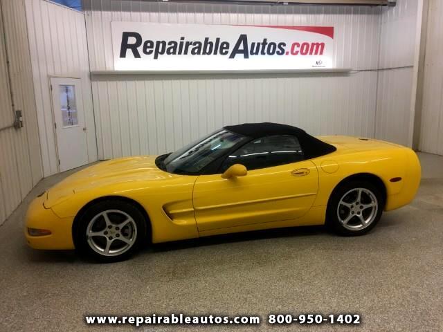 2000 Chevrolet Corvette Convertible Repairable Water Damage
