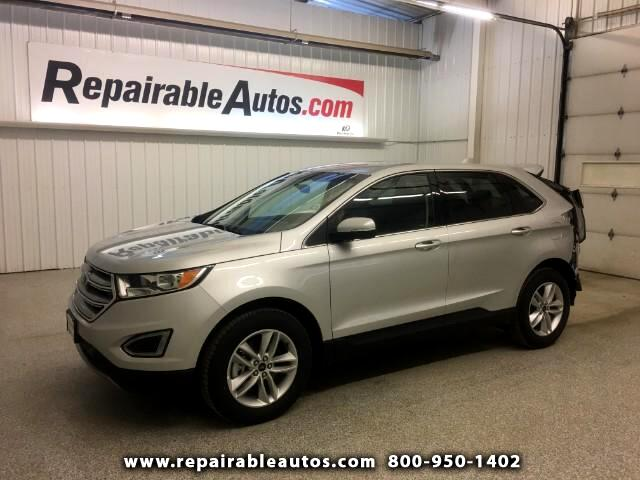 2017 Ford Edge SEL AWD Repairable Rear Damage