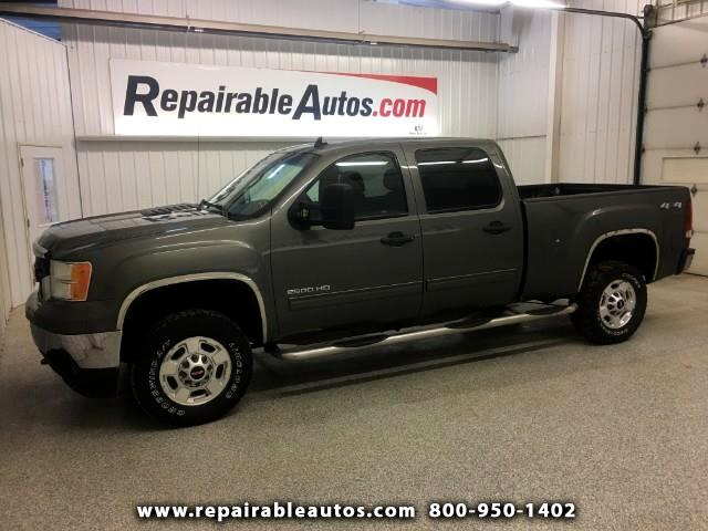 2011 GMC Sierra 2500HD SLE Crew Cab 4WD Repairable Frt & RR Damage