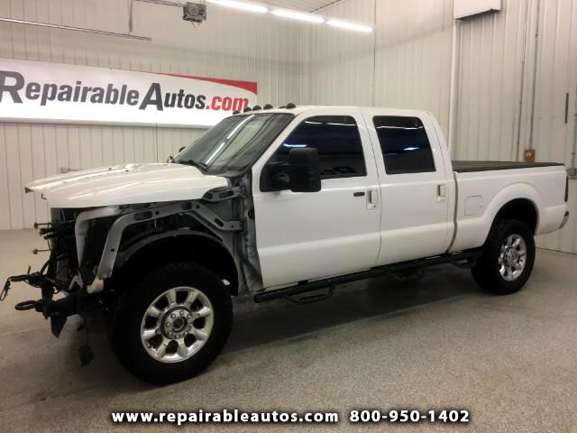 2015 Ford F-350 SD Crew Cab 4WD Repairable Front Damage