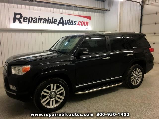 2013 Toyota 4Runner Limited 4WD Repairable Water Damage