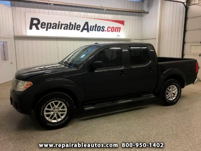 2014 Nissan Frontier SV 2WD Water Dmg. NONREPAIRABLE TITLE