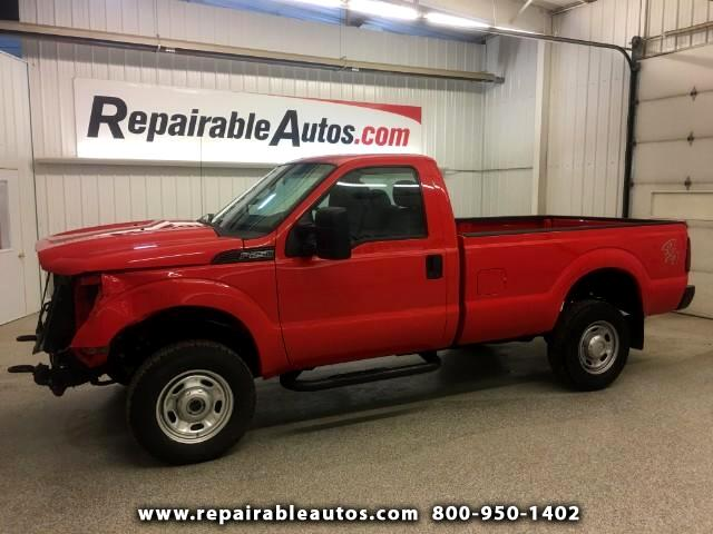2016 Ford F-250 SD Reg. Cab 4WD Repairable Front Damage