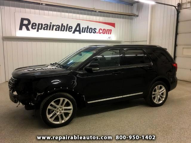 2016 Ford Explorer XLT 4WD Repairale Front Damage