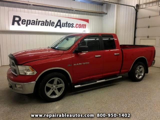 2011 RAM 1500 Quad Cab 4WD Trade In